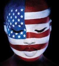 black women flag